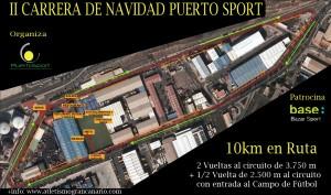 Circuito de la II Carrera Puerto Sport