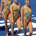 Cosas que me sobran en una olimpiada: La natación sincronizada