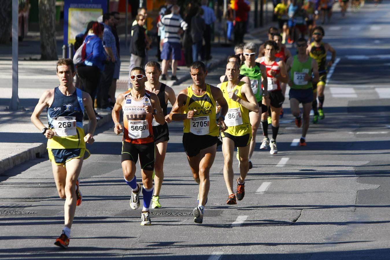 """El amigo Miguel Rodríguez, MMP con 1h16'15"""" eso si es correr hamijo"""