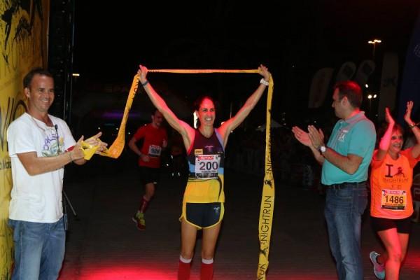 Patricia Diaz, Ganadora en Media Maratón y 8ª de la general