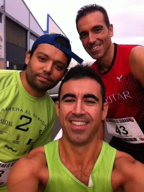 Con Jony Oxford (vuelve a la cinta roja Jony) y José Lobillo